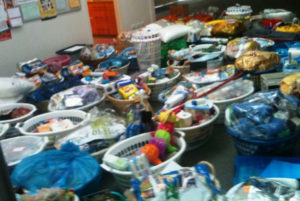 Now 131 Baskets of Hope ….. and counting …….
